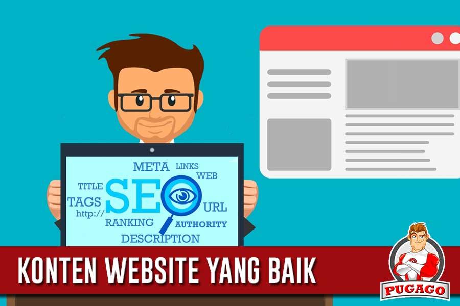 Faktor yang Perlu Diperhatikan Ketika Membangun Konten Website