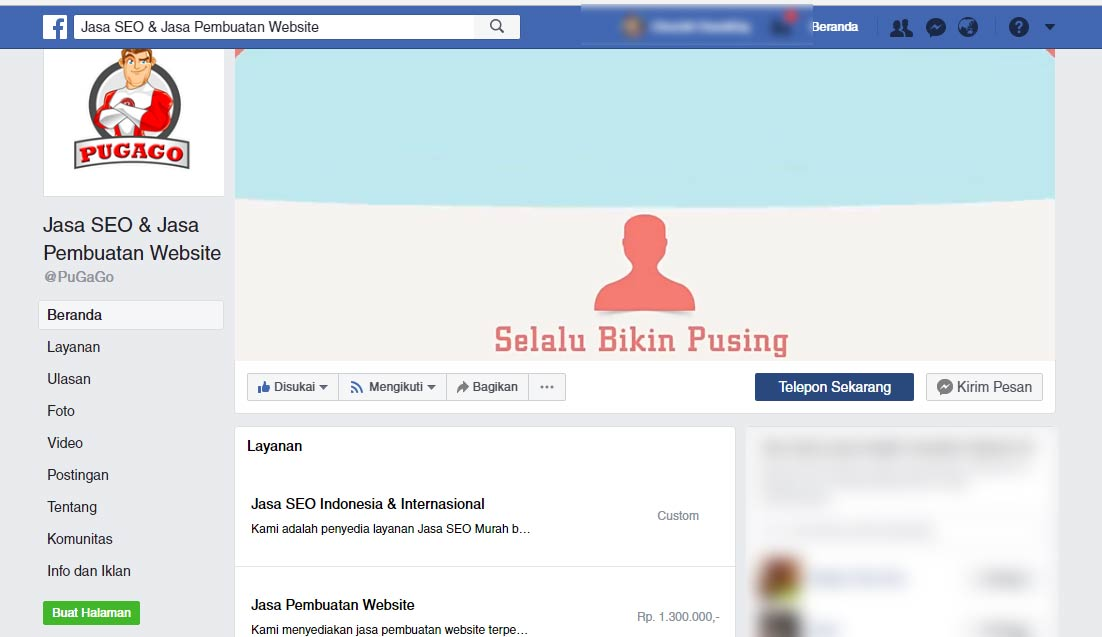 Jasa Facebook Marketing Profesional